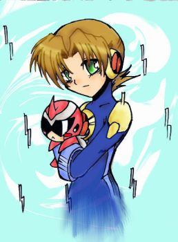 Rockman EXE by whitmoon