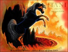 Race of Fire 1st Prize by ghost-eye