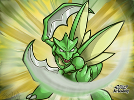 PAA Scyther by Wolvern