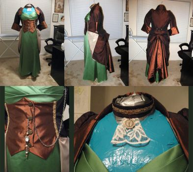 Victorian-ish Jacket: Done by MistyKat