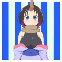 Elma (from Miss Kobayashi's Dragon Maid) by ArtsyRC