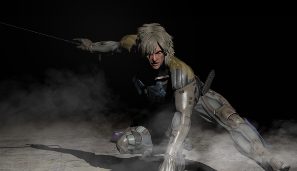 Metal Gear Rising Raiden by LordHayabusa357