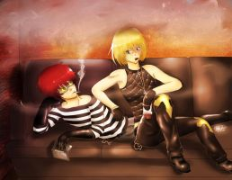 Matt and Mello by Ethereal-Asphixia