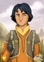 Ezra Bridger by IceIsland
