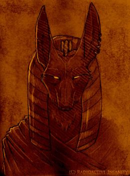 Anubis by Radioactive-Insanity