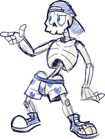 Bonebro Joe by Goronic