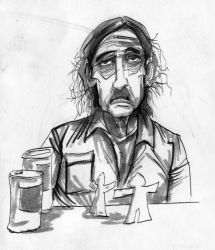 True Detective daily sketch by L-F-S