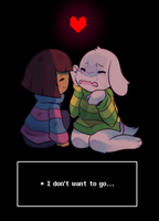 * I Don't Want to Let Go   Undertale by pekou