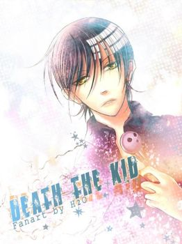 Soul Eater : Death the kid by H2O-kun