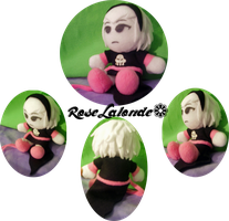 Rose Lalonde Plushie Collab by 20f3