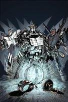 Exo-1 and the Rock Solid Steelbots by DJLogan