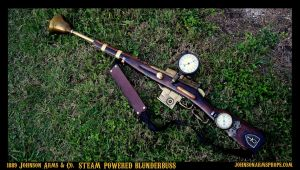 1889 Steam-Powered Blunderbuss by Johnson Arms by JohnsonArmsProps
