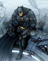 The Caped Crusader by phil-cho