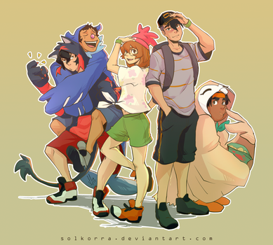 Voltron Sun and Moon by SolKorra