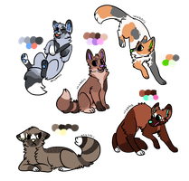 Adoptable batch | setprice - 10 points | closed by Olivesadoptables101