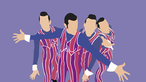 We are number one but It's a Minimalist Wallpaper by Theztret00