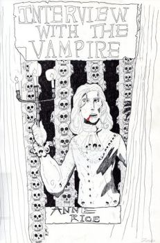 Interview with the vampire sketch by steveyoungsculptor