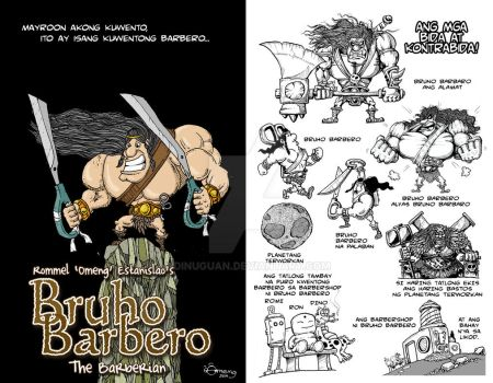 Bruho Barbero the Barberian by Dinuguan
