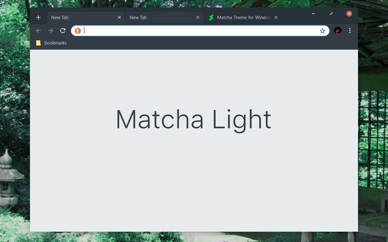 Matcha Light Chrome Theme by bkp86
