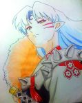 Sesshomaru by draulemihawk