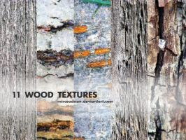 11 Wood Textures by MirceAdrian