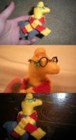 Harry Potter Llama by 42LifeIsForLiving42