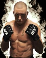 Georges 'Rush' St-Pierre by King-Arsalan-Monawar