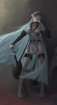 Quick Practice - Esdeath by senkothefan