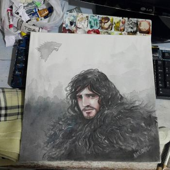 Jon Snow by ninsouza