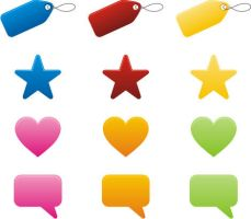 USEFUL BUTTONS VECTOR GRAPHIC by FreePSDDownload
