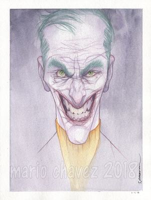 The Joker by MarioChavez