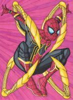 Iron Spider-Man by RobertMacQuarrie1
