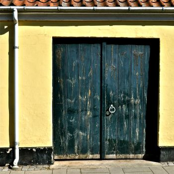 Door and Drain by haloid2010