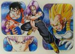 Future Trunks collage II by elfaba1993