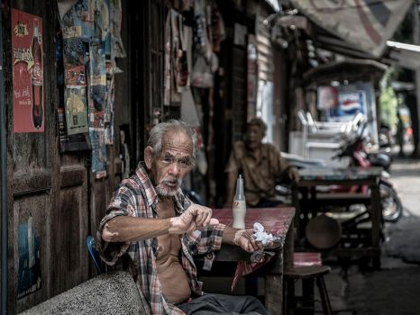 Old Man - Aggressive by InayatShah