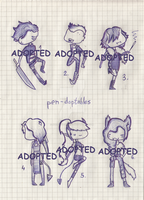 Offer to Adopt 6 (CLOSED) by Adopt-From-Frog