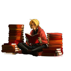 Edward Elric by Kattinx