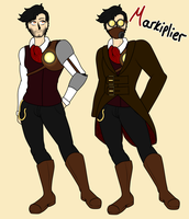 Steampunk Tubers - Markiplier by P-Paradox