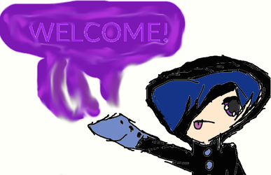 welcome page by TheShadowChibi