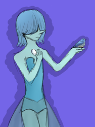 Blue Pearl by Undyne1