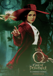 Nina Dobrev/OZ The Great and Powerful by MidnightRippah