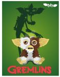 Gremlins Gizmo scary  shadow by julesvampire