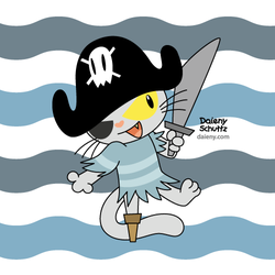 Pirate Cat by Daieny