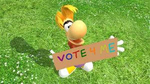 Vote for Rayman! by SuperAbachiBro