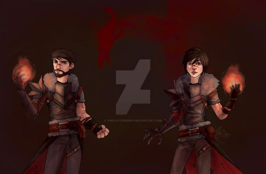 Hawke - Together by thecapturedspy