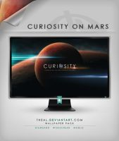 Curiosity on Mars by TheAL
