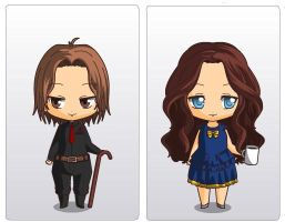 Rumple and Belle :) by Anachreon