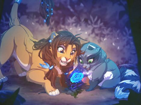 the magic of a friendship by evana