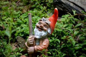 Serial Killer Gnome by sioranth