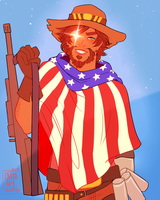 Sniper McCree by OuttaMySystems